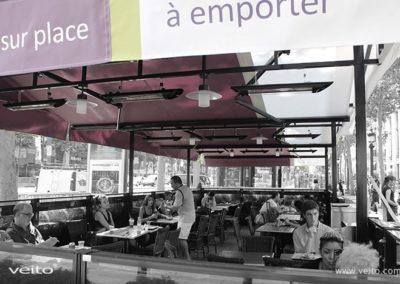 Restauracje i hotele - Promienniki z włókna węglowego Veito - veito.com.pl